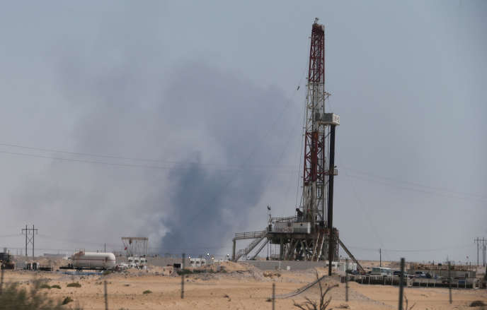 Incendie du site Aramco d'Abqaiq, en Arabie saoudite, le 14 septembre.
