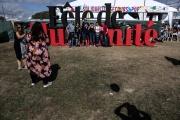 Fête de «L'Humanité» au Parc de La Courneuve (Seine-Saint-Denis), le 15 septembre 2018.