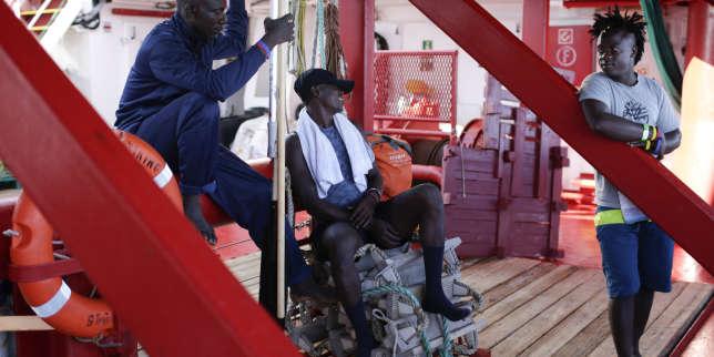 L'Italie accepte le débarquement de 82 migrants de l'«Ocean Viking» à Lampedusa