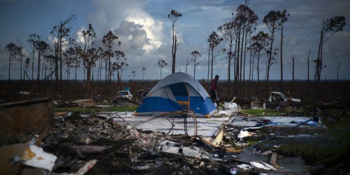 Après Dorian, la tempête tropicale Humberto souffle sur les Bahamas