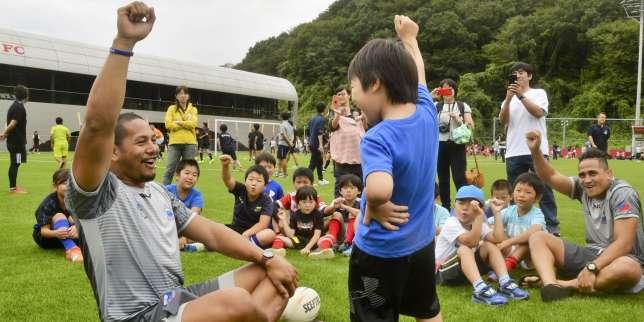Coupe du monde de rugby 2019 : pour «son» Mondial, l'engouement monte au Japon