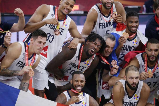 La France termine troisième de la Coupe du monde 2019.