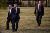 Donald Trump en visite à Baltimore (Maryland), le 12 septembre.