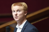Adrien Quatennens à l'Assemblée nationale.