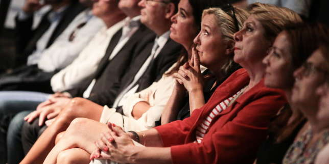 A Fréjus, Marine Le Pen entre en campagne... présidentielle