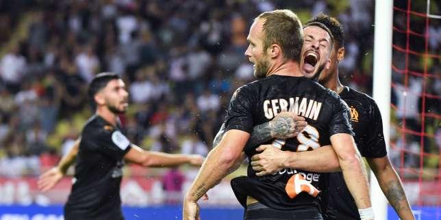 Ligue 1: Marseille enfonce Monaco etrecolle aupodium