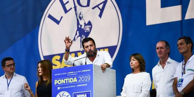 En Italie, Matteo Salvini tente le retour aux sources pour rassurer sa base et soigner ses blessures