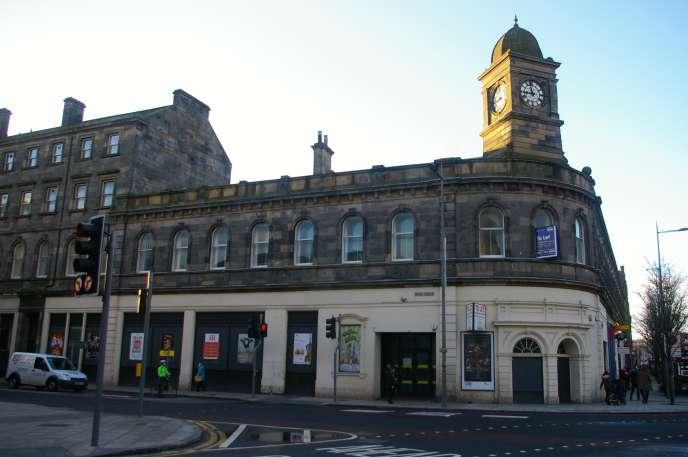 L'ex-Leith Central Station, Edimbourg, en 2015. Un des lieux de «Trainspotting», que revisite aujourd'hui Irvine Welsh.