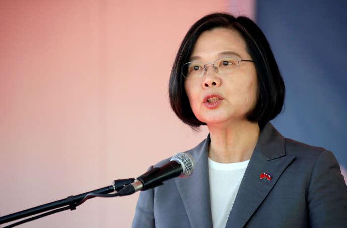 Pékin veut faire pression sur la présidente Tsai Ing-wen (photo), du Parti démocrate progressiste, élue à Taïwan en 2016.