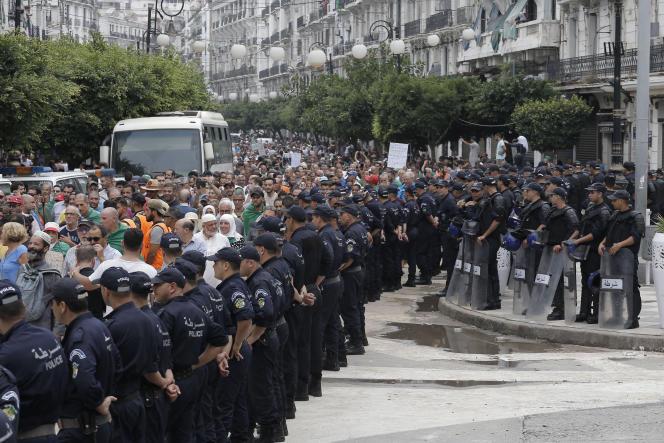 Mobilisation contre le pouvoir à Alger, le 13 septembre 2019.