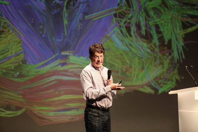 Laurent Alexandre donnait, le 14 septembre, une conférence sur le transhumanisme et l'intelligence artificielle aux universités d'été du Rassemblement national.