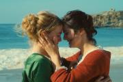 Adèle Haenel (à gauche) et Noémie Merlant (à droite) dans« Portrat de la jeune fille en feu».