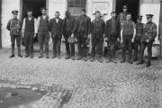 Arrestation de membres de l'IRA en 1920 à Bandon (Irlande).