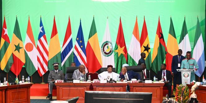 A Ouagadougou, le 14 septembre 2019, lors du sommet de la Cédéao contre la menace terroriste en Afrique de l'Ouest.