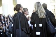 Partout ou presque, les avocats ont décidé de ne plaider aucune affaire et de demander le renvoi des procès.