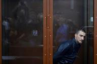 L'acteur Pavel Oustinov, lors d'une audience à Moscou, le 16 septembre.