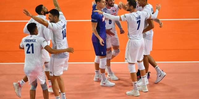 Euro de volley: la France corrige la Bulgarie pour son premier test