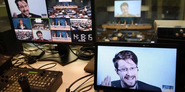 Edward Snowden demande à Emmanuel Macron de lui accorder l'asile en France