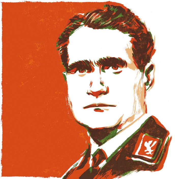 Rudolf Hess (1894-1987).