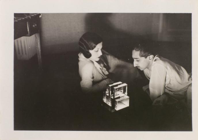 Man Ray, Le Maharajah et sa femme, vers 1927© Man Ray 2015 Trust / Adagp, Paris, 2019