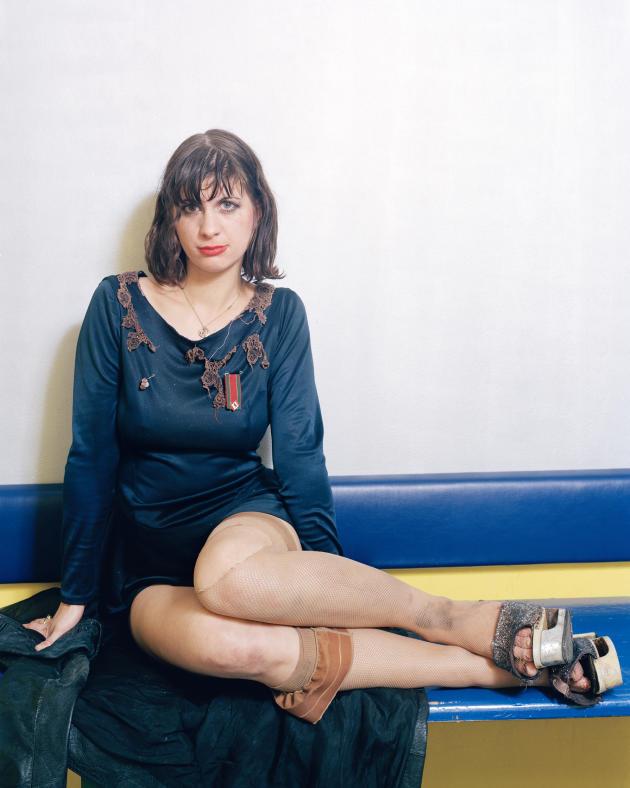 Gina, du groupe Cobra Killer, SO 36, novembre 2004.
