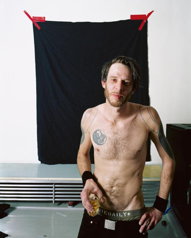 Le producteur et DJ T.Raumschmiere, 103, juillet 2006.