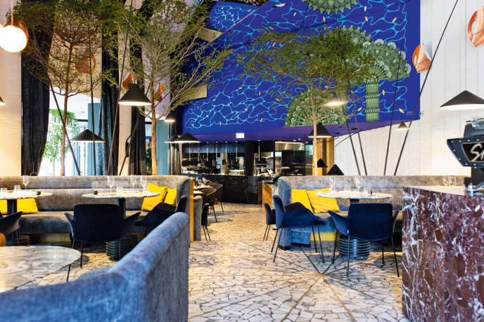 Le restaurant Daroco16, à Paris.