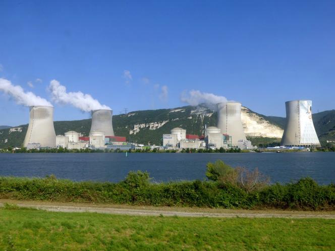 La centrale nucléaire de Cruas-Meysse, en Ardèche.