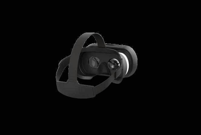 Le smartphone s'intègre dans les «Cockpit glasses» pour générer un effet «immersif»