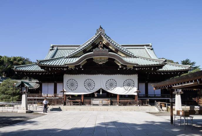 Le bâtiment principal du sanctuaireYasukuni, symbole du militarisme nippon, à Tokyo.