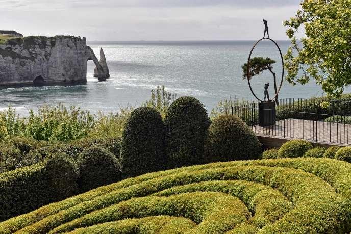 Les jardins d'Etretat.