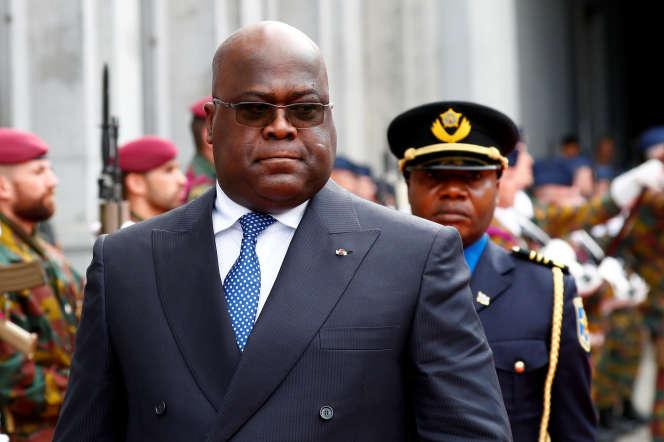 Felix Tshisekedi, président de la République démocratique du Congo, à Bruxelles le 17 septembre 2019. REUTERS/Francois Lenoir