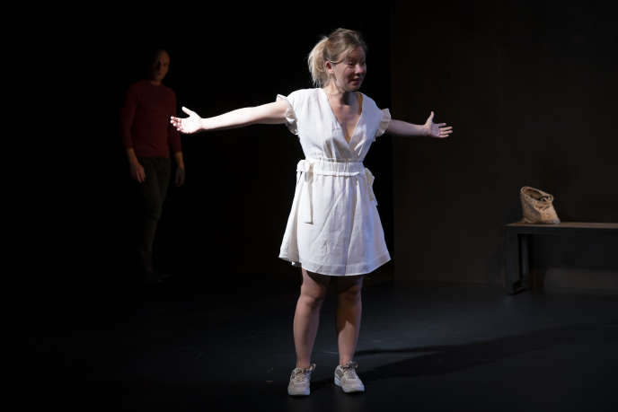 Géraldine Martineau au Théâtre du Rond-Point, à Paris.