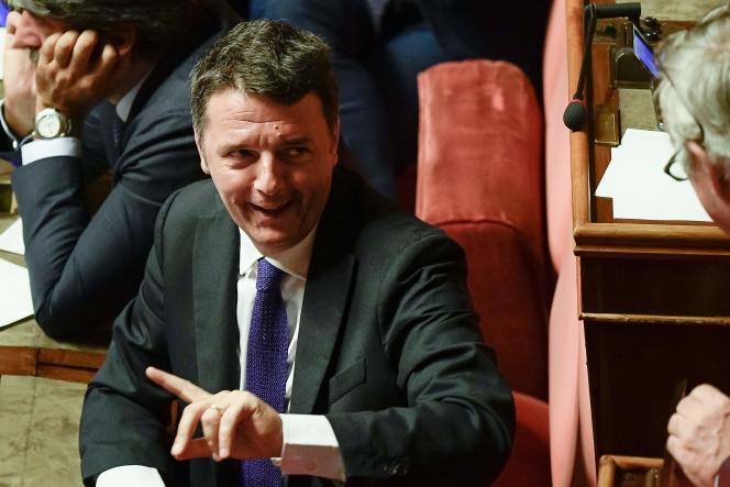 Matteo Renzi à Rome le 10 septembre 2019.