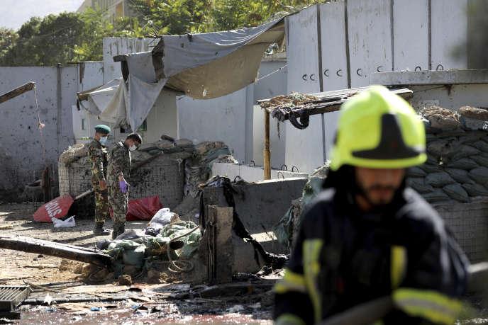 L'attentat à Kaboul a fait au moins 22 morts, le 17 septembre.
