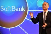 Le patron de Softbank, Masayoshi Son, lors de la conférence de presse sur les résultats financiers de son groupe, à Tokyo, le 9 mai.