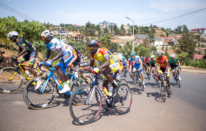 Lors du Tour du Rwanda, à Kigali, le 12 août 2018.