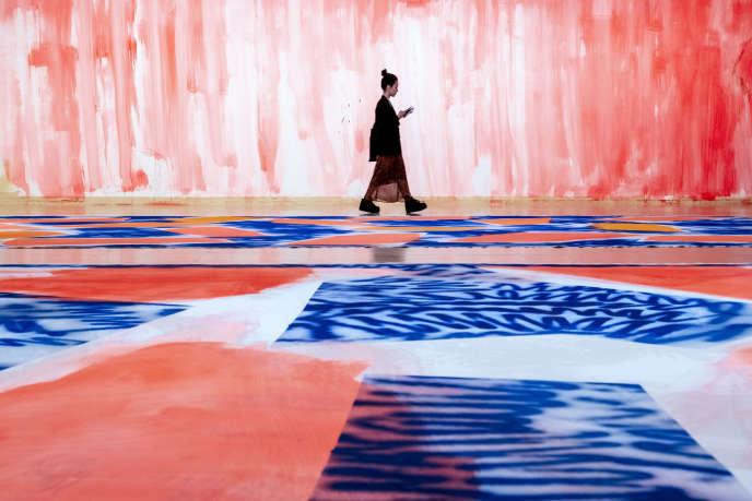 «Mia», de Renée Levi, au musée d'art contemporain de Lyon.