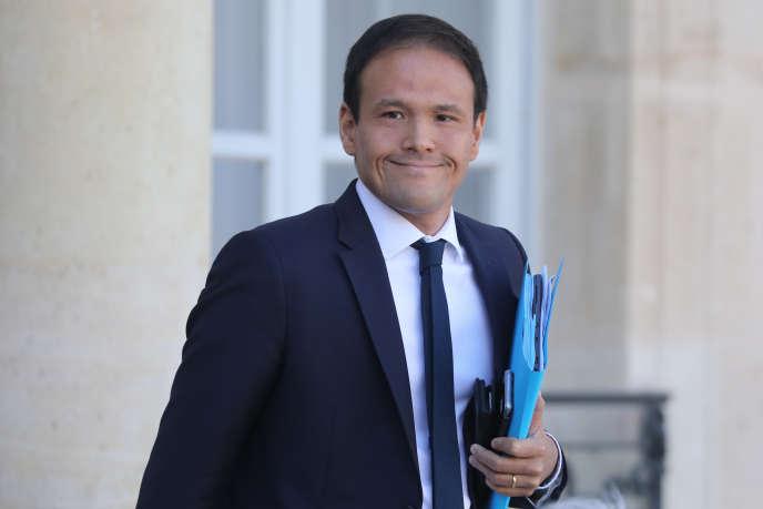 Le secrétaire d'Etat au numérique, Cédric O, le 11 septembre, à Paris.