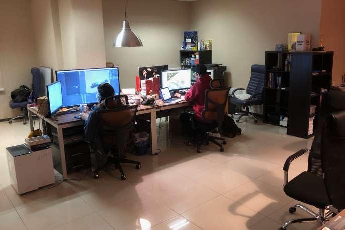 Le studio Weappya réussi à s'installer à Minsk grâce à une campagne de financement sur Kickstarter.