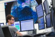 Au centre des opérations de CLS, filiale du Centre national d'études spatiales (CNES), à Toulouse, en mai 2018.