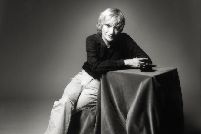 L'écrivaine Françoise Sagan, à Paris, en 1986.