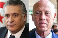 Nabil Karoui et Kaïs Saïed s'affronteront au second tour de la présidentielle tunisienne, le 6 ou le 13 octobre 2019.
