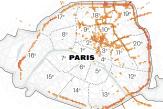Une nouvelle cartographie révèle les zones les plus polluées de Paris