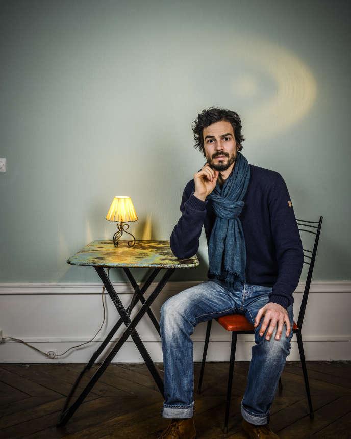 L'ingénieur agronome français et chercheur indépendant et transdisciplinaire Pablo Servigne, en janvier 2018 à Paris.