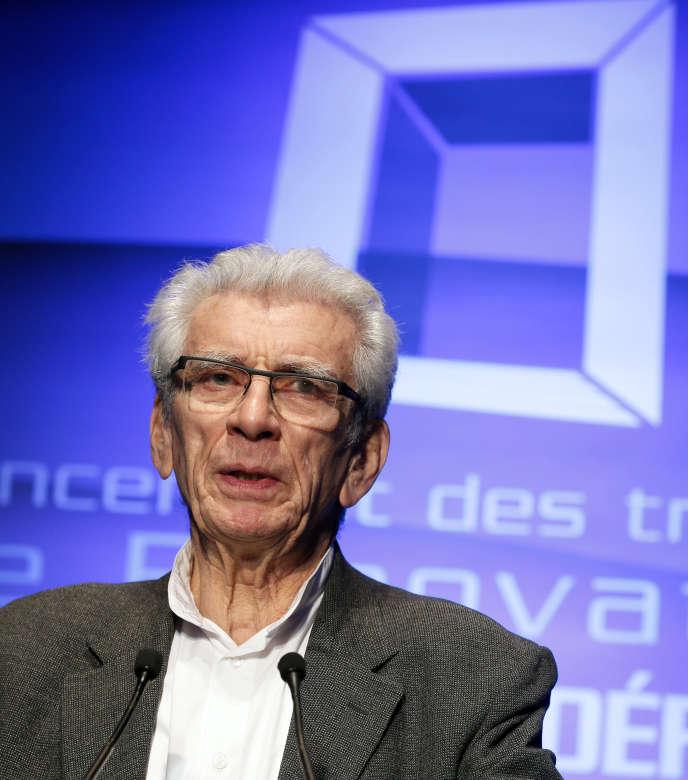Robert Lion, en 2014, à Paris-la Défense.