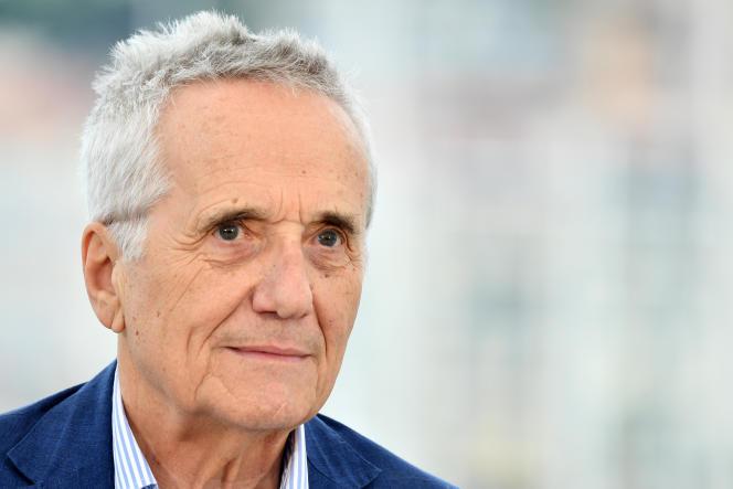 Le réalisateur italien Marco Bellocchio, au Festival de Cannes, le 24 mai 2019.