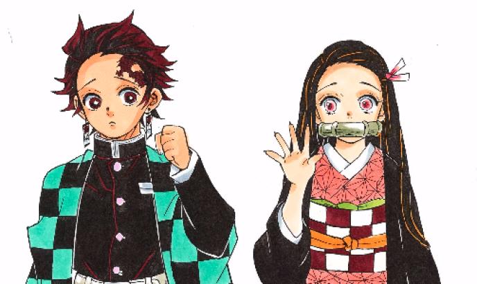 Tanjiro et sa sœur Nezuko, les héros de« Demon Slayer».