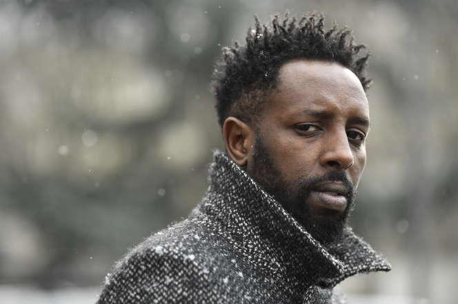 Le réalisateur français Ladj Ly le 27 février 2018, à Clichy-sous-Bois (Seine-Saint-Denis).