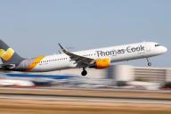 Un avion de Thomas Cook à Majorque en juillet.